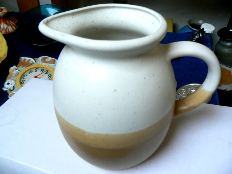 A lovely country stonewear Jug,can it be ID'd P410
