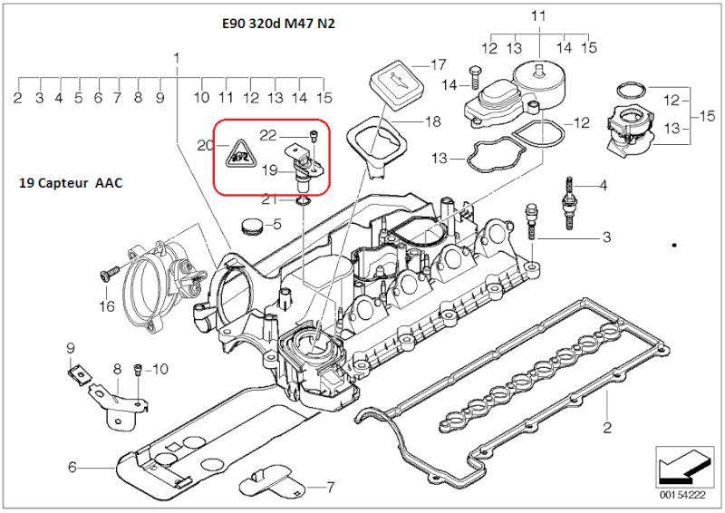 [ BMW e90 320D M47N2 an 2007 ] Ne redémarre pas chaud (résolu) 12_e9010