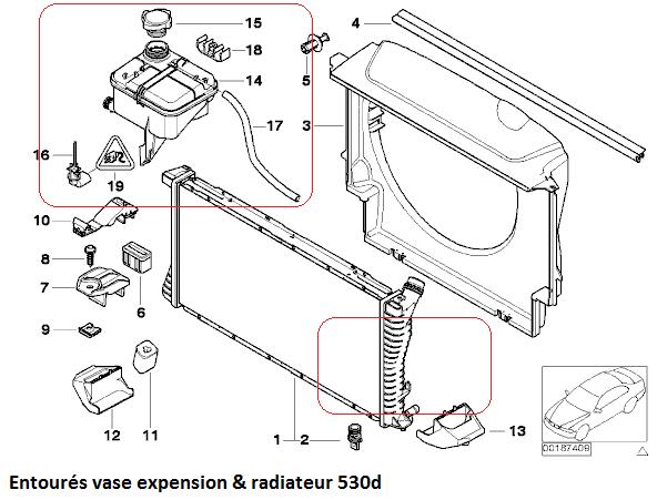 [ BMW e39 530D M57 an 2001 ] Schéma Radiateur  17_vas10