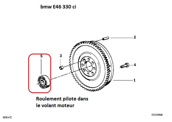 [ BMW E46 330ci cab an 2002 ] Jeu arbre primaire boîte. (video) 1_1_e410