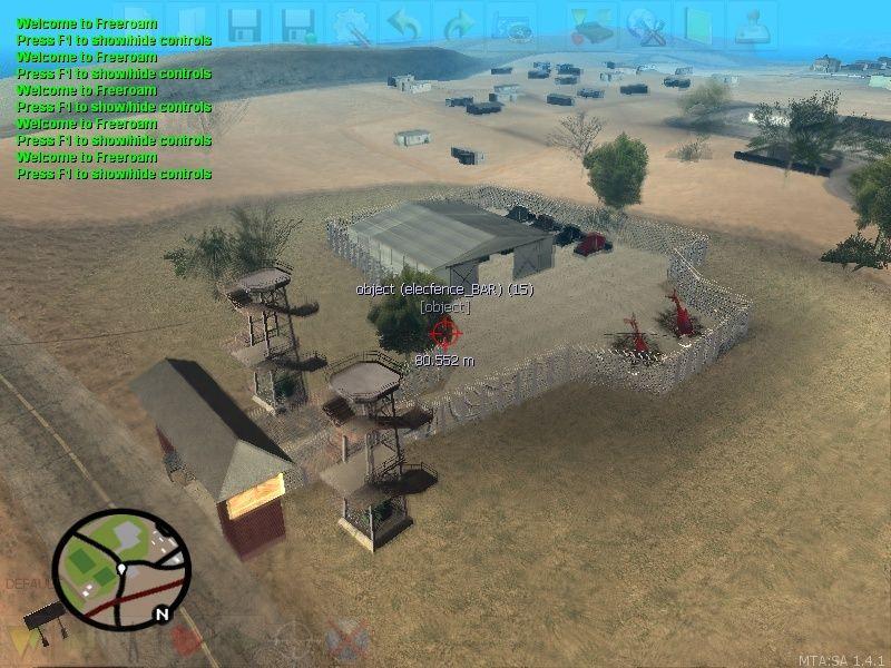 Terrorist Weapons Trailers Warehouse with Trucks Mta-sc10