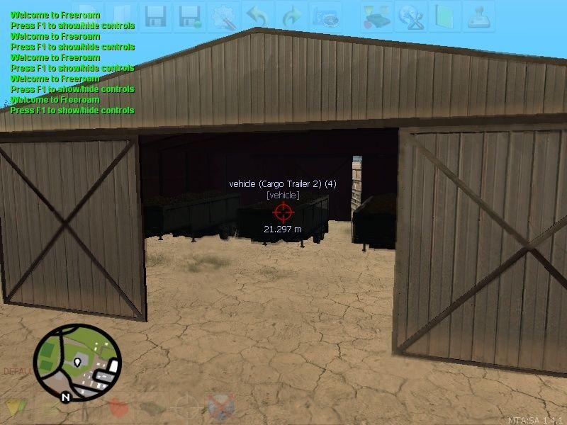 Terrorist Weapons Trailers Warehouse with Trucks Mta-sc11