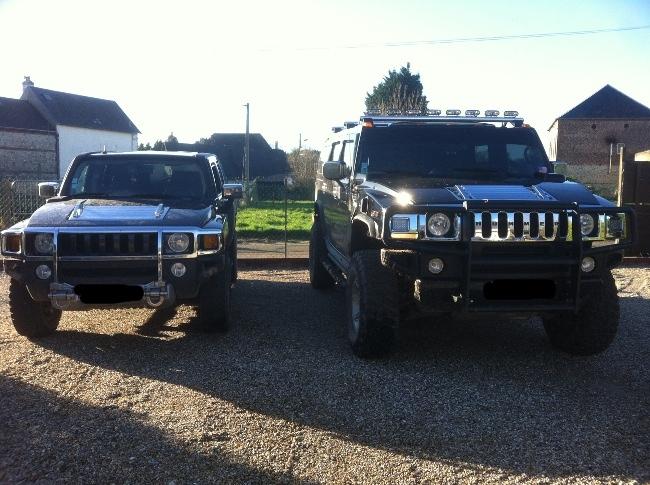 Hummer H2,  gros ou!!!   comparaison... Img_2211
