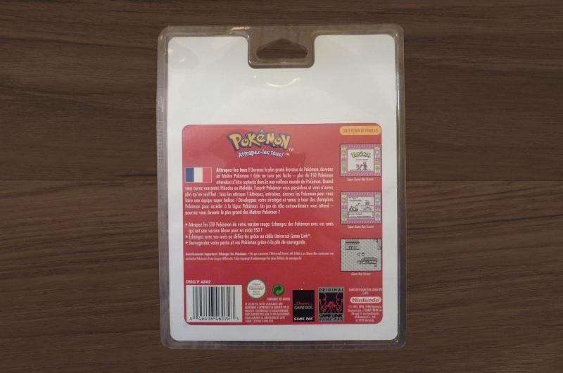 Pokémon rouge rigide Teck-b10