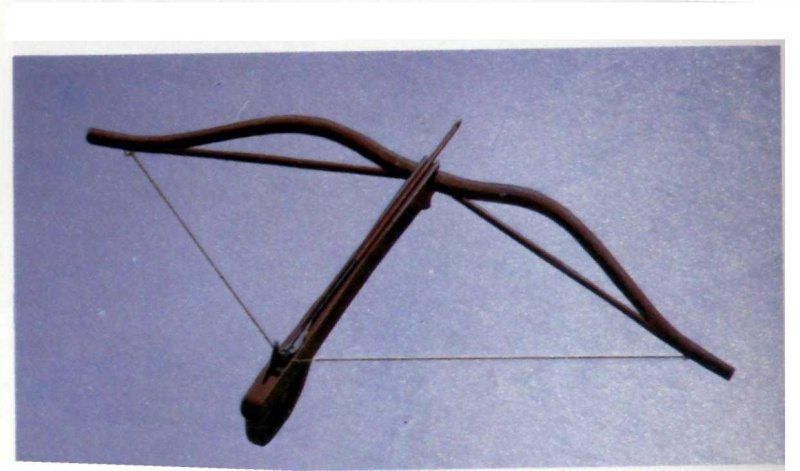 Strange components of excavated Chinese Crossbow 7010