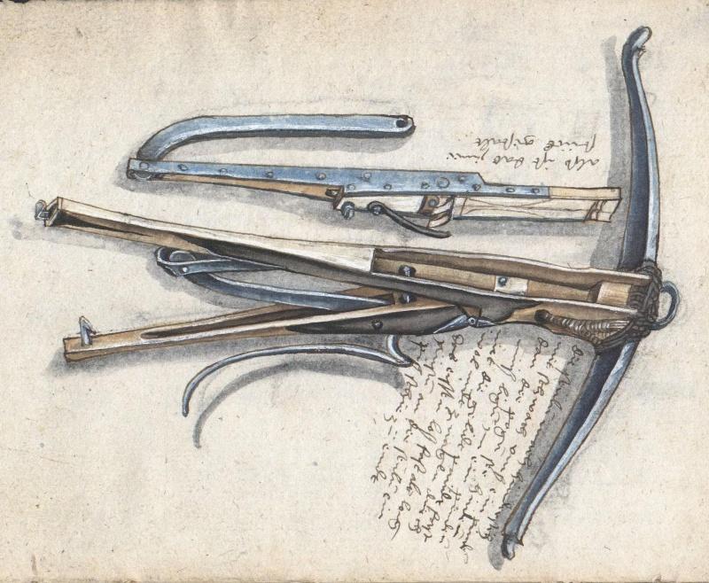 A selfspanning crossbow in the Loeffelholz MS Ndigor10