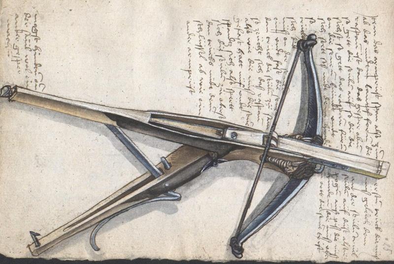 A selfspanning crossbow in the Loeffelholz MS Ndigor11