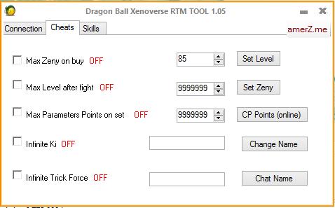 [Tool] Dragonball Xenoverse Tool 1.05 Captur25