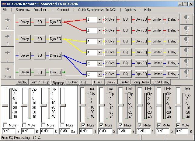 Filtre actif numérique DCX 2496 After_11