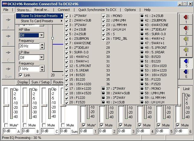 Filtre actif numérique DCX 2496 Store_10
