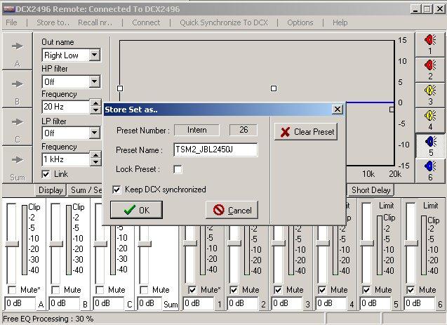 Filtre actif numérique DCX 2496 Store_11