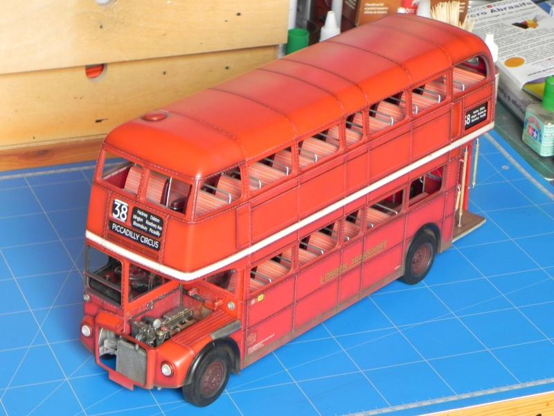 AEC Routemaster London double decker bus 1/24 Revell terminus tout le monde descend! - Page 3 Dscn0419
