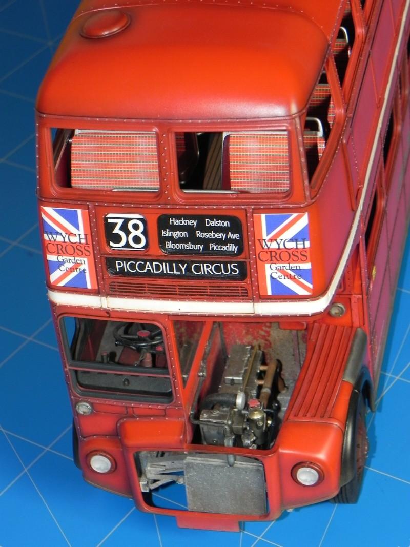 AEC Routemaster London double decker bus 1/24 Revell terminus tout le monde descend! - Page 3 Dscn0425
