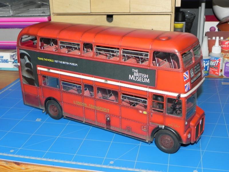 AEC Routemaster London double decker bus 1/24 Revell terminus tout le monde descend! - Page 3 Dscn0717