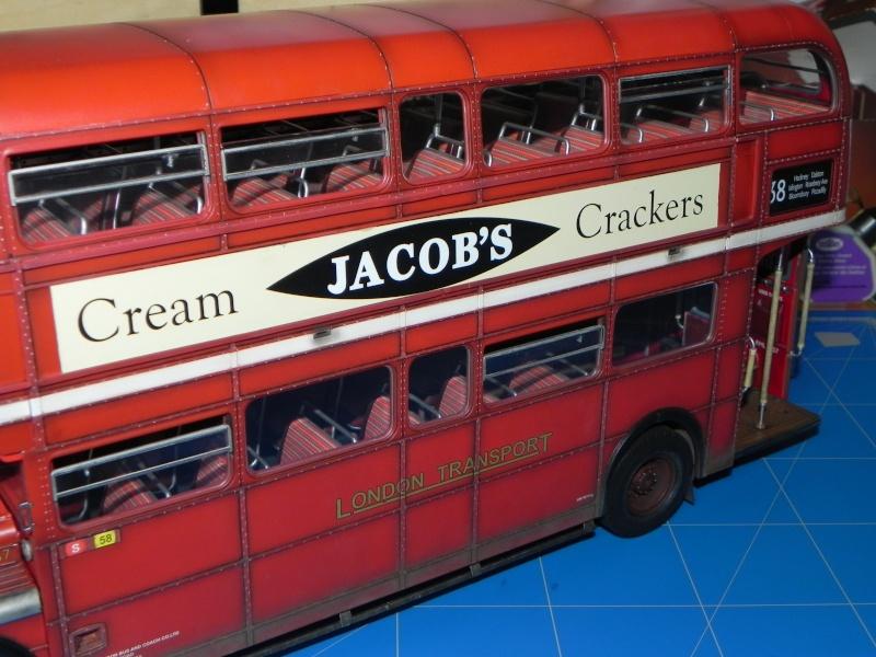 AEC Routemaster London double decker bus 1/24 Revell terminus tout le monde descend! - Page 3 Dscn0719