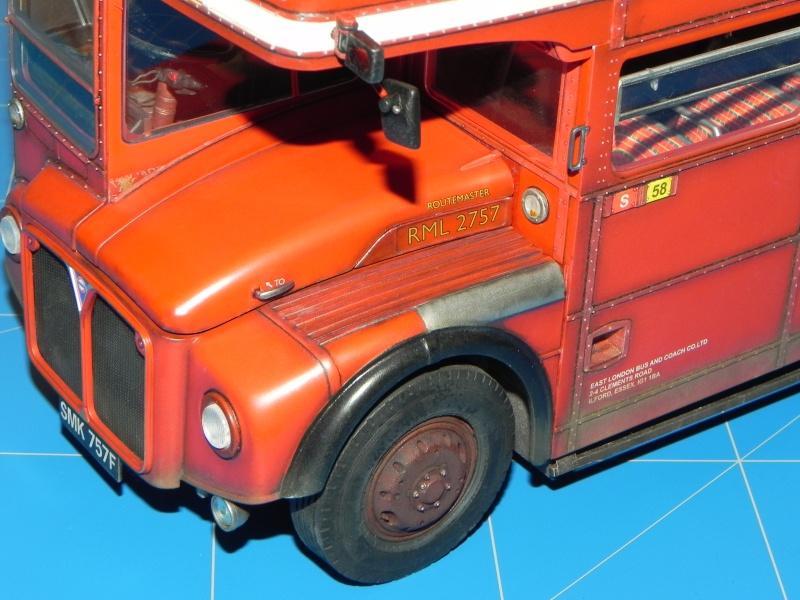 AEC Routemaster London double decker bus 1/24 Revell terminus tout le monde descend! - Page 3 Dscn0720