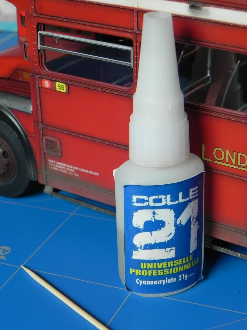 AEC Routemaster London double decker bus 1/24 Revell terminus tout le monde descend! - Page 3 Dscn0810