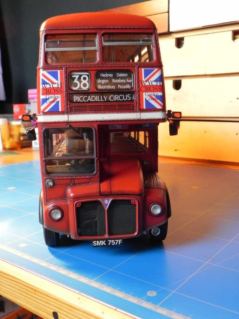 AEC Routemaster London double decker bus 1/24 Revell terminus tout le monde descend! - Page 3 Dscn0812
