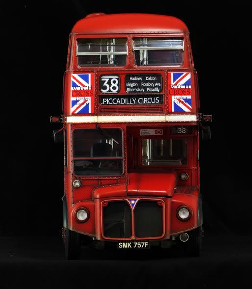 AEC Routemaster London double decker bus 1/24 Revell terminus tout le monde descend! - Page 3 London10