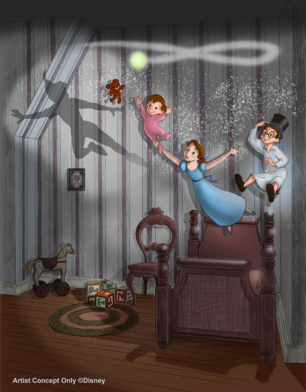 [Disneyland Park] Peter Pan's Flight (réouverture le 1er juillet 2015) Ppf10110