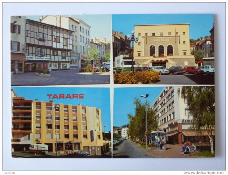 Delcampe - Vieux clichés Tarare10