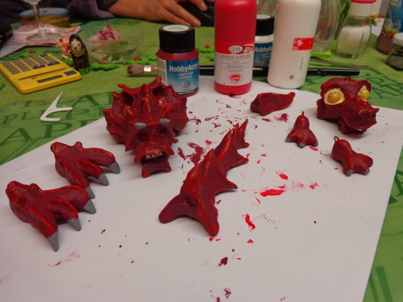 Marionette: Drachen mit Nachwuchs Dsc01912
