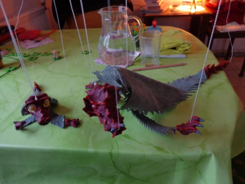 Marionette: Drachen mit Nachwuchs Dsc01917