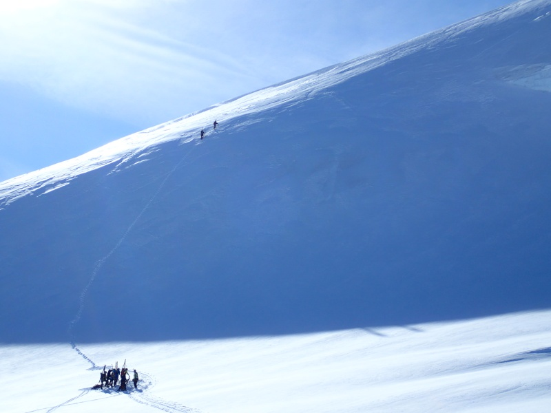 WE du 8-9-10 mai  Mont Blanc de Cheilon(3827m) et Pigne d'Arolla (3790m) P5100111