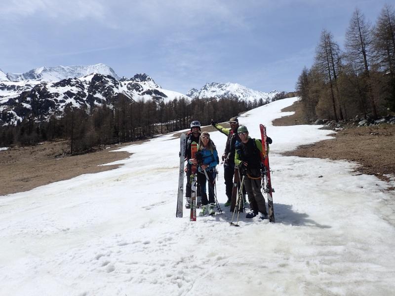 WE du 8-9-10 mai  Mont Blanc de Cheilon(3827m) et Pigne d'Arolla (3790m) P5100213