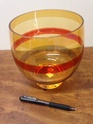 Please ID this striped orange irredescent vase  Img_4310