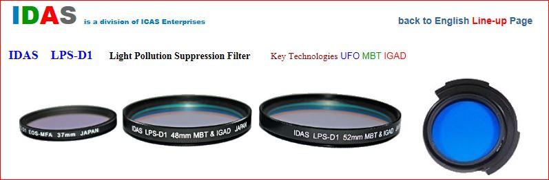 Filtre anti-pollution IDAS-LPS-D1 Captur13