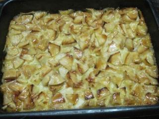 Flan au lait de coco aux pommes.photos. Flan_d10