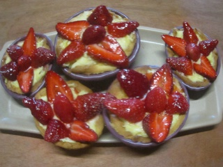 Tartelettes aux fraises Img_1010