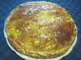 Tourte aux pommes crème pâtissière.photos. Img_6911
