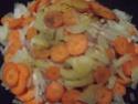 Ossobuco de dinde bardé et légumes.massalé.5.05.2015. 10422411