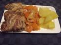 Ossobuco de dinde bardé et légumes.massalé.5.05.2015. 11150510