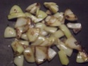 Aiguillettes de poulet aux trois légumes.photos. 11164811