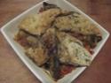 Aiguillettes de poulet aux trois légumes.photos. 14719611