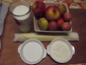 tarte aux pommes crème pâtissière.photos. Dscf5511