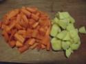 Purée de carottes.photos. Dscf5523