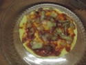 Tour de galettes aux légumes et poulet.photos. Dscf5622