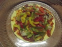Tour de galettes aux légumes et poulet.photos. Dscf5623