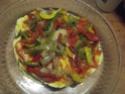 Tour de galettes aux légumes et poulet.photos. Dscf5634
