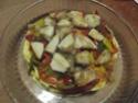 Tour de galettes aux légumes et poulet.photos. Dscf5635
