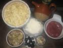 Farandelles de Savoie. viande hachée et Parmesan.photos. Farand11