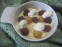 Fromage blanc aux framboises.photos. Fromag14