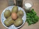 pommes de terre farcies en purée.basilic. photos. Img_6571