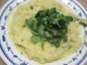 pommes de terre farcies en purée.basilic. photos. Img_6613
