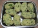 pommes de terre farcies en purée.basilic. photos. Img_6616
