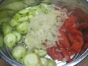Spaghettis.poivron.courgette. bœuf. photos. Img_6852